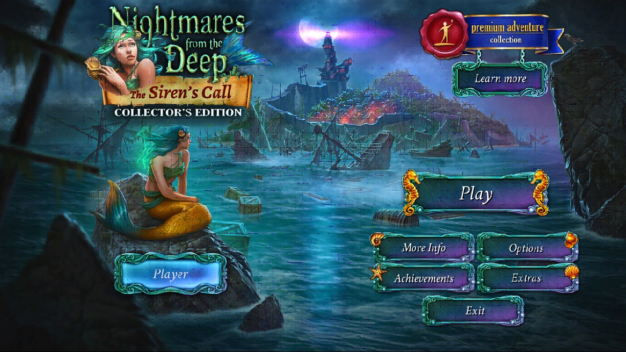 Nightmares from the Deep 2 The Siren's Call available for Linux Mac Window PC