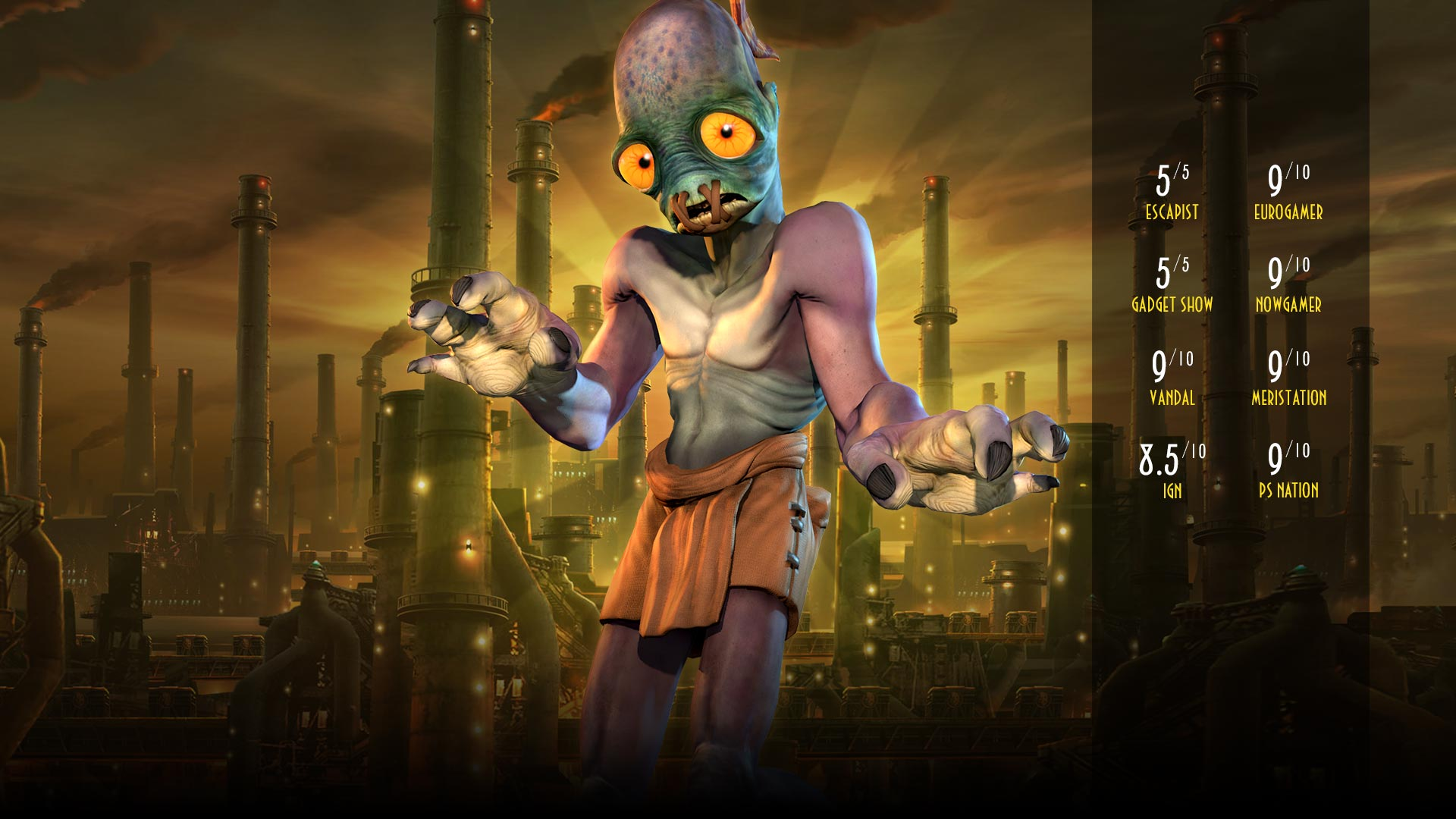 Oddworld: New 'n' Tasty coming soon for Linux, Mac and Windows PC