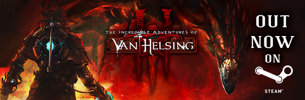 The Incredible Adventures of Van Helsing III releases for PC and Mac, Neocore WILL support Linux