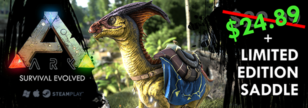 ARK: Survival Evolved now available for Linux and Mac on Steam Early Access