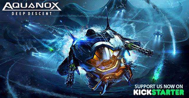 Aquanox Deep Descent underwater vehicle shooter now on Kickstarter