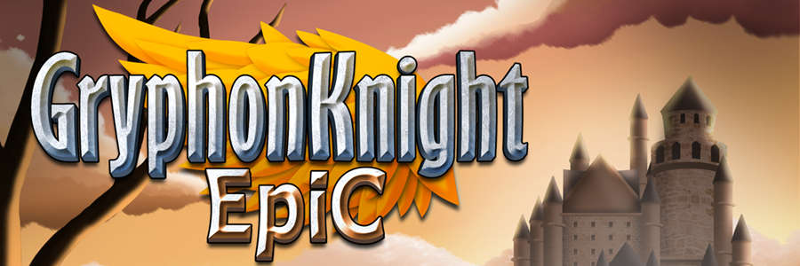 Retro shoot 'em up action in Gryphon Knight Epic for Linux, Mac and Windows PC