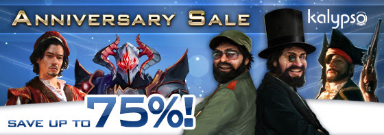 Kalypso Media Anniversary Sale still on this weekend for Linux, Mac and Windows PC