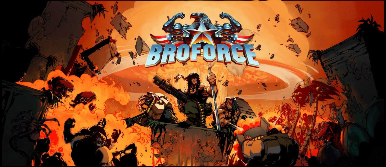 Broforce now has a playable build for Linux and SteamOS