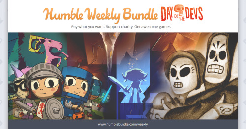 Humble Weekly Bundle – Day of the Dev's releases for Linux, Mac and Windows PC