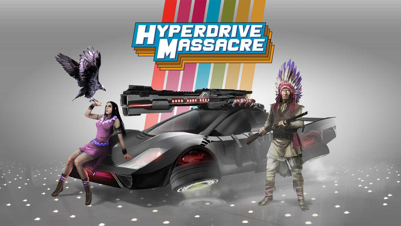 Hyperdrive Massacre 4-Player arcade multiplayer action now available for Linux, Mac and Windows PC
