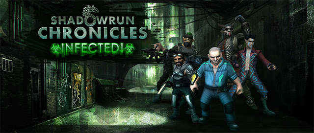 Shadowrun Chronicles new expansion INFECTED releases for Linux, Mac and Windows PC