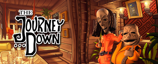 The Journey Down: Chapter Three now on Kickstarter for Linux, Mac and Windows PC