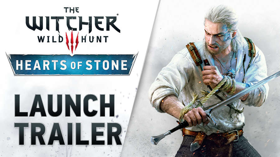 The Witcher 3: Wild Hunt trailer and release date for the Hearts of Stone expansion