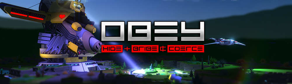 Action strategy OBEY available FREE this weekend for Linux, Mac and Windows PC
