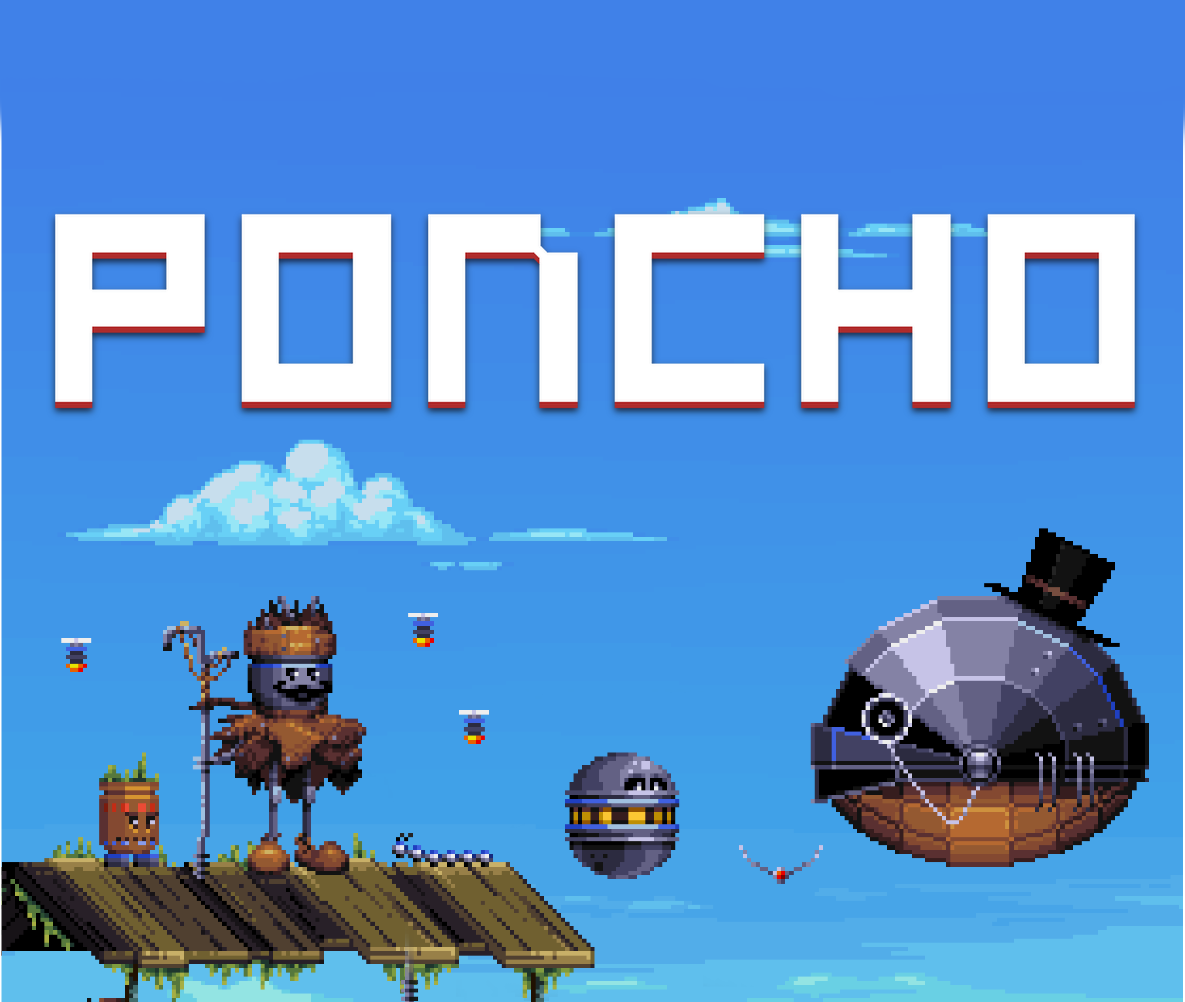 Poncho 2 5D pixel art adventure platformer debuts on Linux