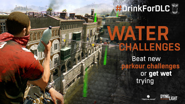 Drink for DLC Water Challenges coming to Dying Light for Linux, Mac and Windows PC