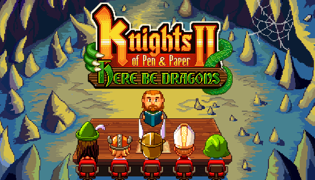 Knights of Pen and Paper 2 Campaigns for a New Expansion on Linux, Mac and Windows PC