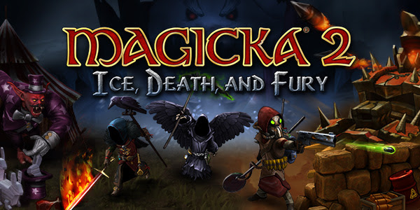 Magicka 2 new expansion DLC releases today Ice, Death, and Fury for Linux, Mac and Windows PC