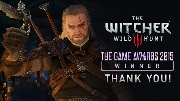 CD Projekt Red and The Witcher 3: Wild Hunt at The Game Awards 2015