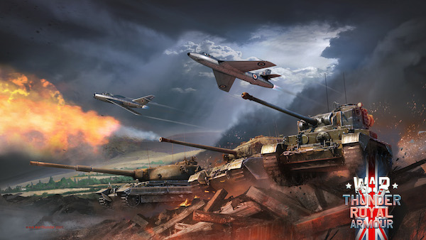 British Tanks Roll Out for 'Royal Armour' War Thunder update on Linux, Mac and Windows PC