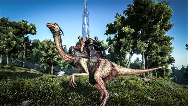 ark-survival-evolved-update-brings-new-dinasour-gallimimus