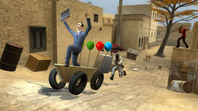 Garry's Mod has hit a new milestone of 10 million copies sold for Linux, Mac and Windows PC