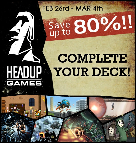 Massive Headup Games Steam discount sale now live for Linux, Mac and Windows PC