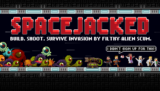 Spacejacked tower defense releases for Linux, Mac and Windows PC