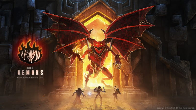 Think Trunk announced Book of Demons action RPG coming in Q3 2016