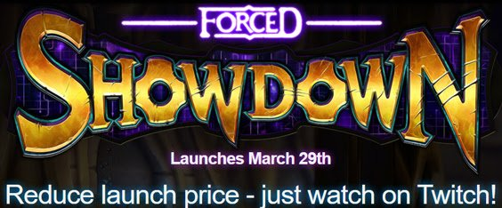Twitch community decides the Launch Price for Forced Showdown