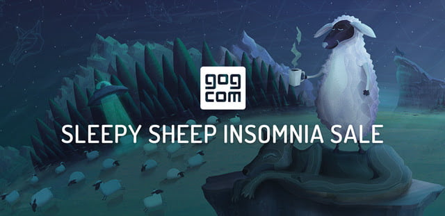 GOG.com's Insomnia Sale kicks off today for Linux, Mac and Windows PC games