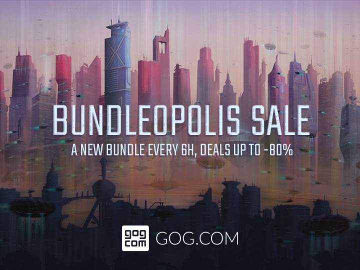 Bundleopolis a DRM-Free bundle Sale now available on GOG for Linux, Mac and Windows PC