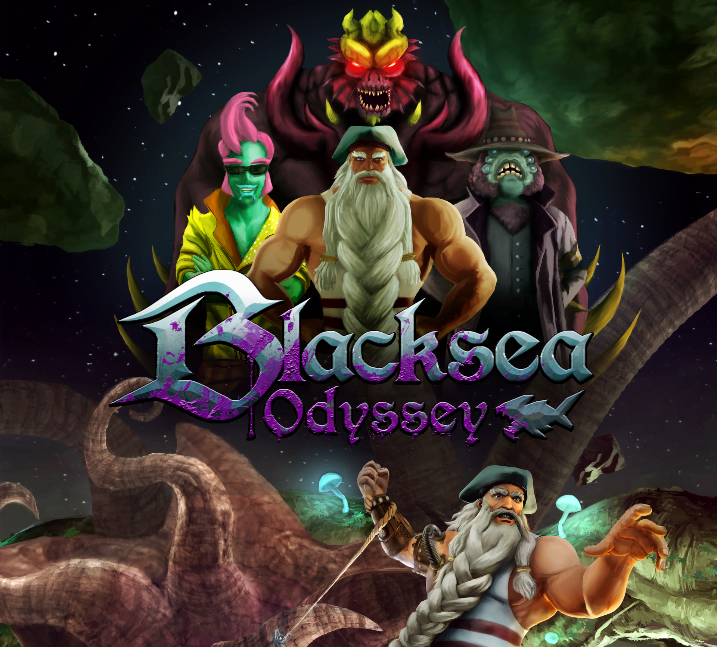 Blacksea Odyssey shoot 'em up RPG releases on Steam for Linux, Mac and Windows PC