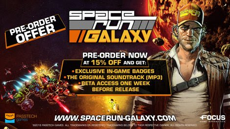 Space Run Galaxy pre-orders open now with discount on Steam