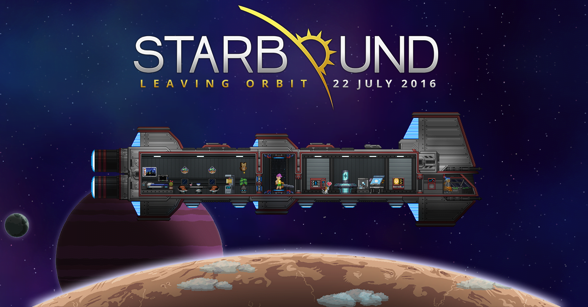 Starbound procedurally-generated adventure will launch on Linux, Mac and Windows PC this month